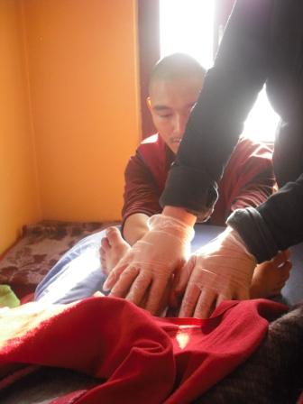 Fühlen lernen - Einführung in die osteopatische Arbeit für Anfänger