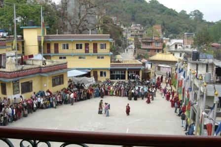 Viele Besucher kamen täglich